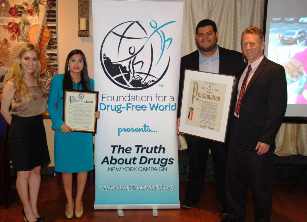 Foundation for a Drug-Free World presents The Truth About Drugs New York Campaign