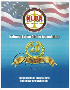 Dr. Fialkoff At The National Latino Officers Association of America Gala
