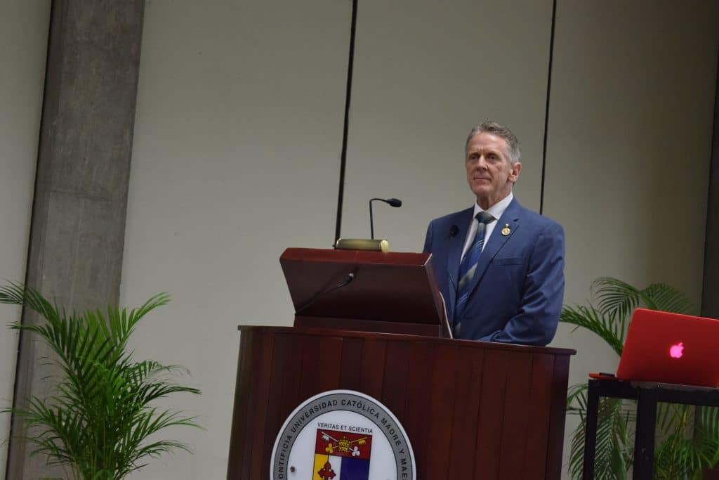 Dr. Bernard Fialkoff speech at univesity
